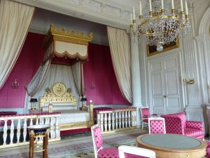 Versailles, Ile-de-France, France, palace, The Grand Trianon,  Empress Bedroom
