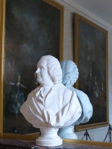 Versailles, Ile-de-France, France, palace, The Grand Trianon,  Room of Mirrors, bust