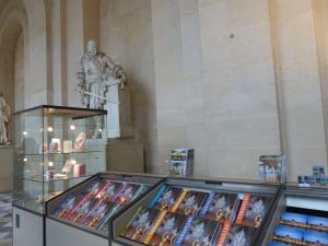 Versailles, Ile-de-France, France, palace, The Palace, souvenir shop