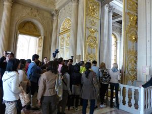 Versailles, Ile-de-France, France, palace, The Palace, tourists, crowds