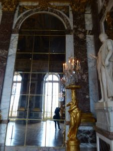 Versailles, Ile-de-France, France, palace, The Palace, tourists, crowds, The Hall of Mirrors