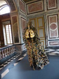 Versailles, Ile-de-France, France, palace, The Palace, tourists, crowds, sculpture