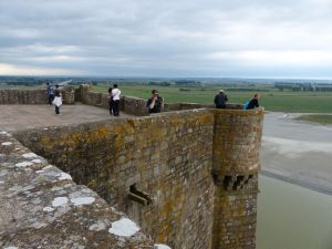 Normandy, France,  pilgrimage, abbey, island