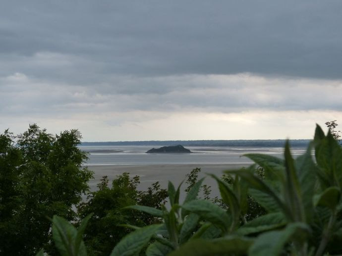 Normandy, France,  pilgrimage, abbey, island, tides, Mont Saint Michel