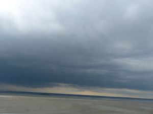 Normandy, France,  pilgrimage, abbey, island, tides, Mont Saint Michel, tides
