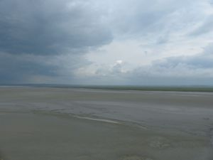 Normandy, France,  pilgrimage, abbey, island, tides, Mont Saint Michel, tides