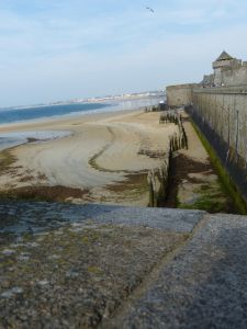 Saint Thomas Gate, Brittany, France, port city, walled city